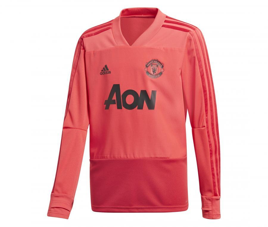 Sweat-shirt Entraînement Manchester United  Rouge Junior