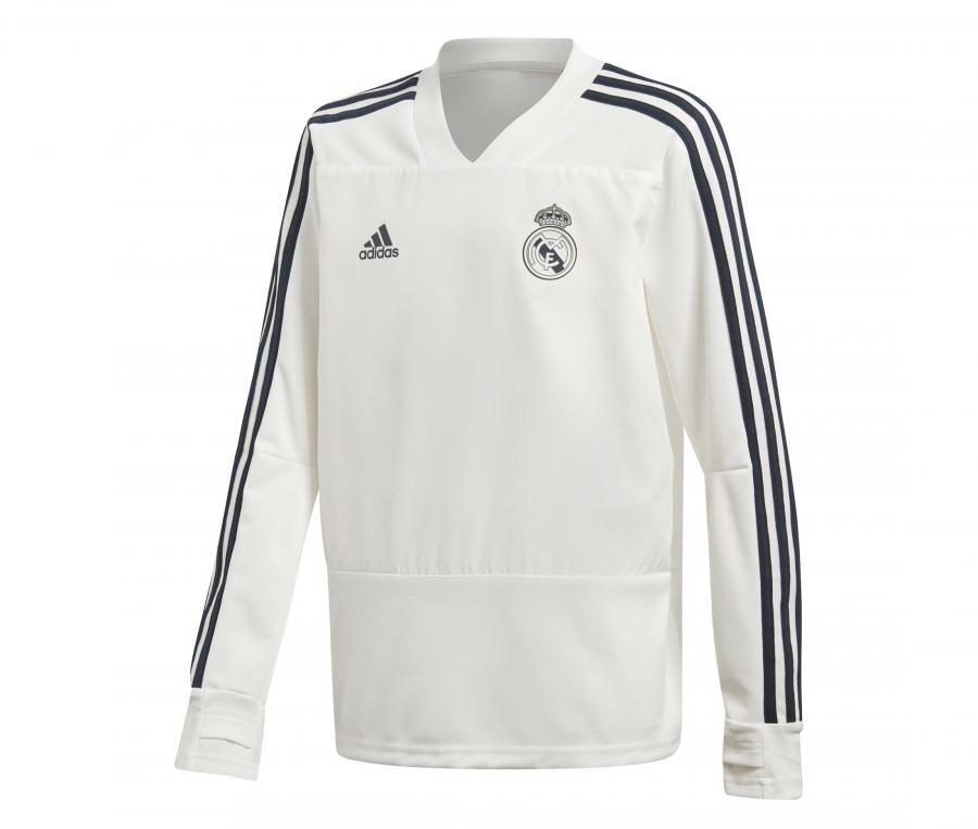 Sweat Entraînement adidas Real Madrid Blanc Junior