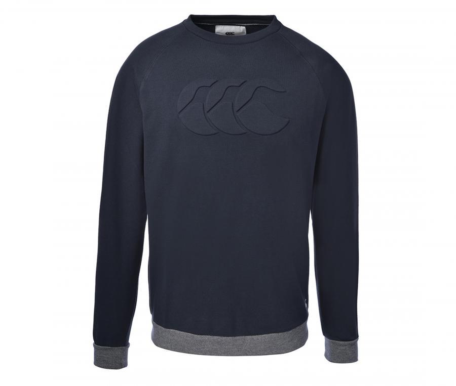 Sweat-shirt Canterbury Severn Bleu