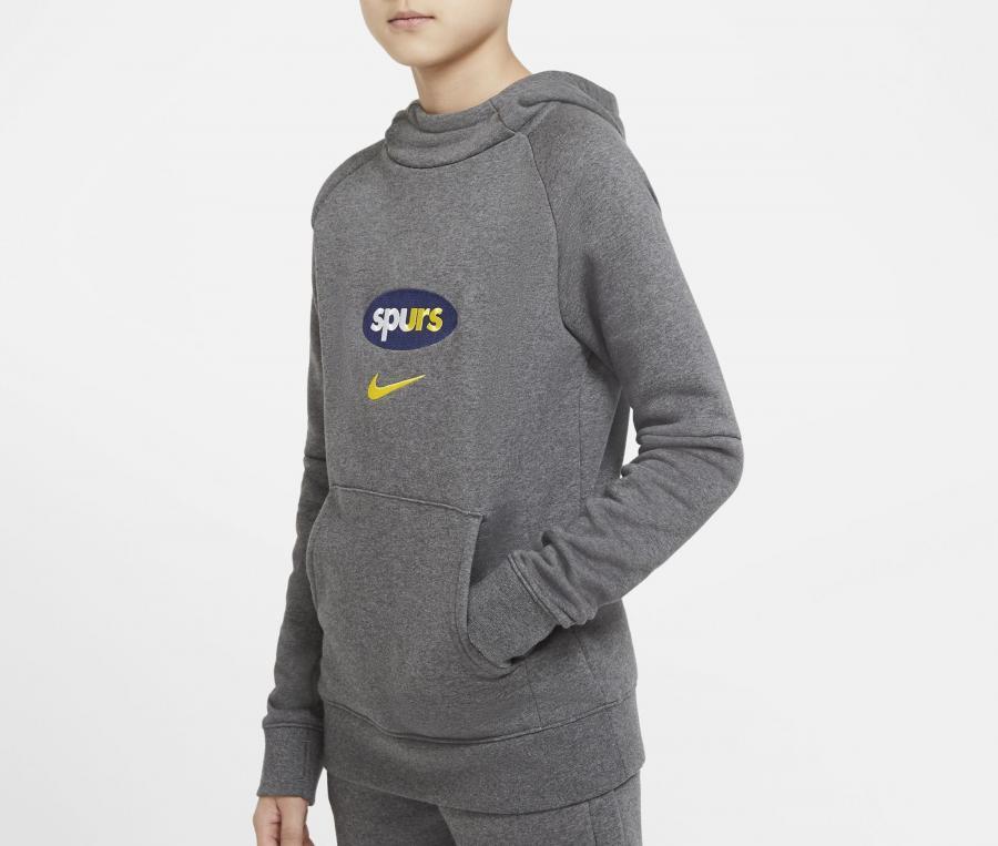 Sweat à capuche Tottenham Gris Junior