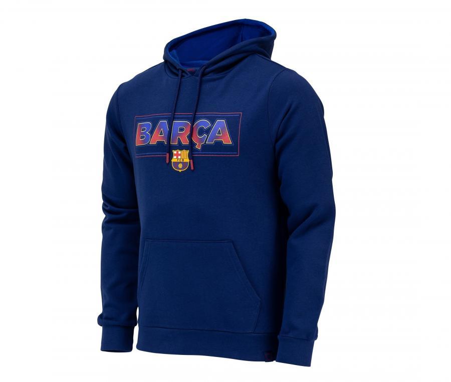 SWEAT CAPUCHE FAN FC BARCA K