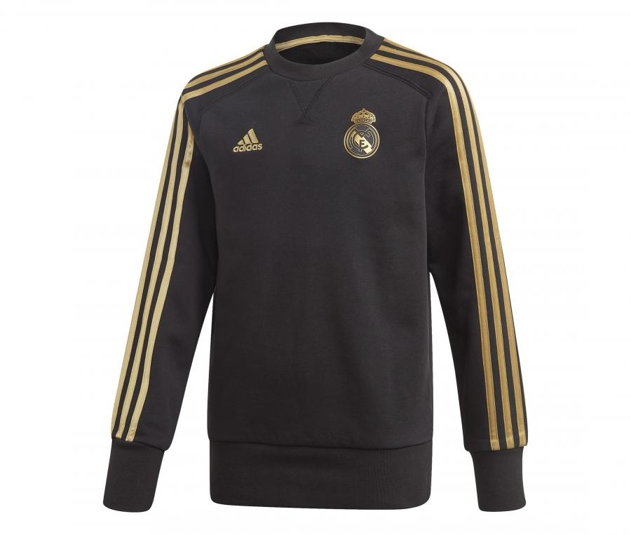 Sweat-shirt Real Madrid Noir Junior