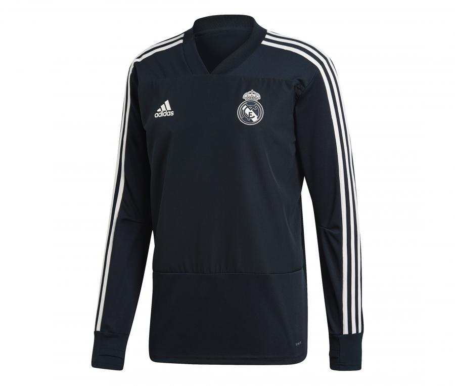 Sweat-shirt Entraînement Real Madrid Noir