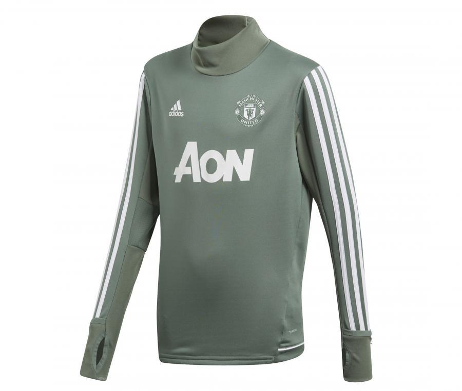 Training Top Manchester United Vert Junior