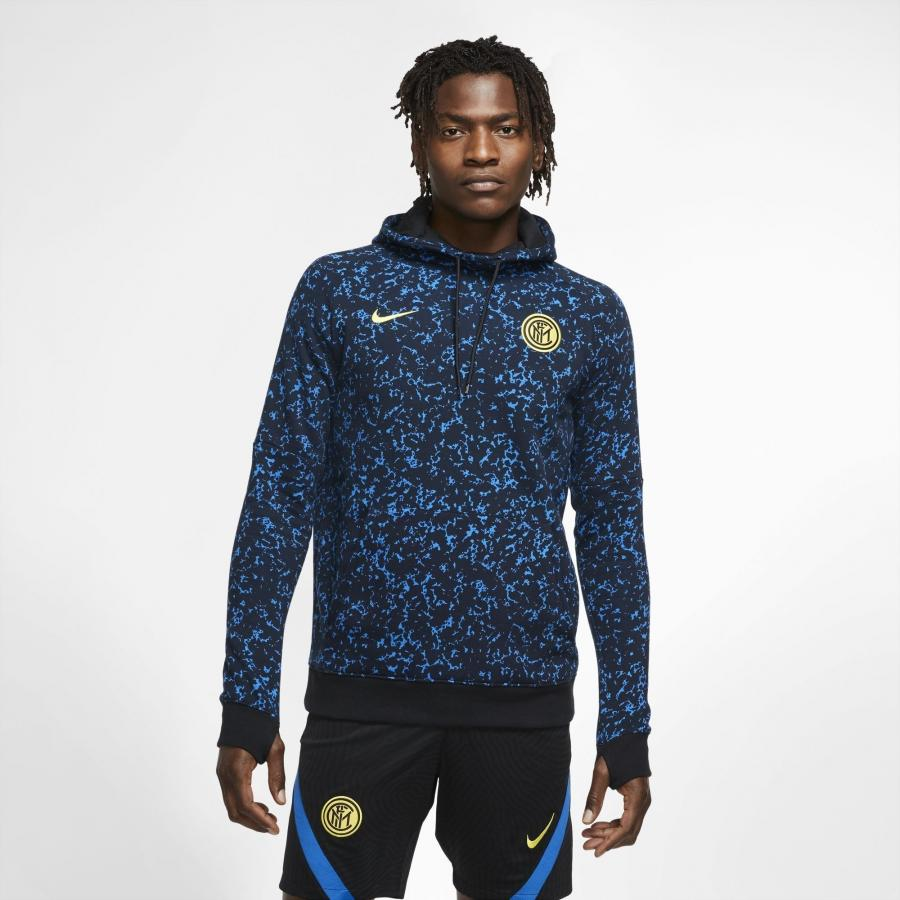 Sweat à capuche Inter Milan Bleu