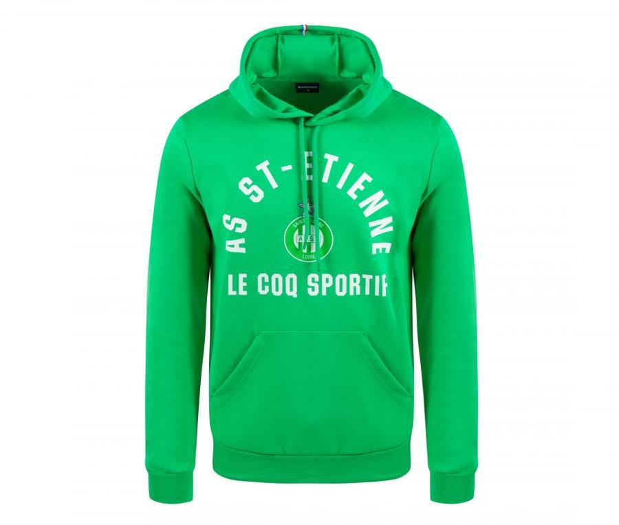 Sweat à capuche AS Saint-Etienne Vert