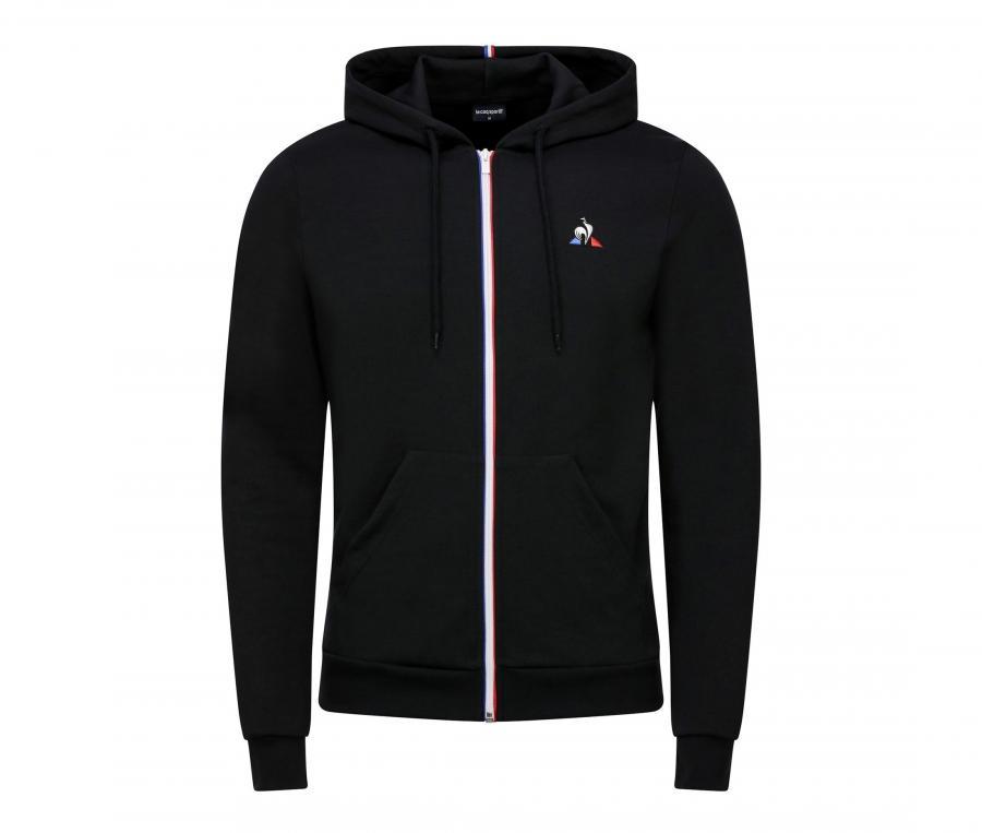 Veste à capuche Le Coq Sportif Essentiel N2 Noir
