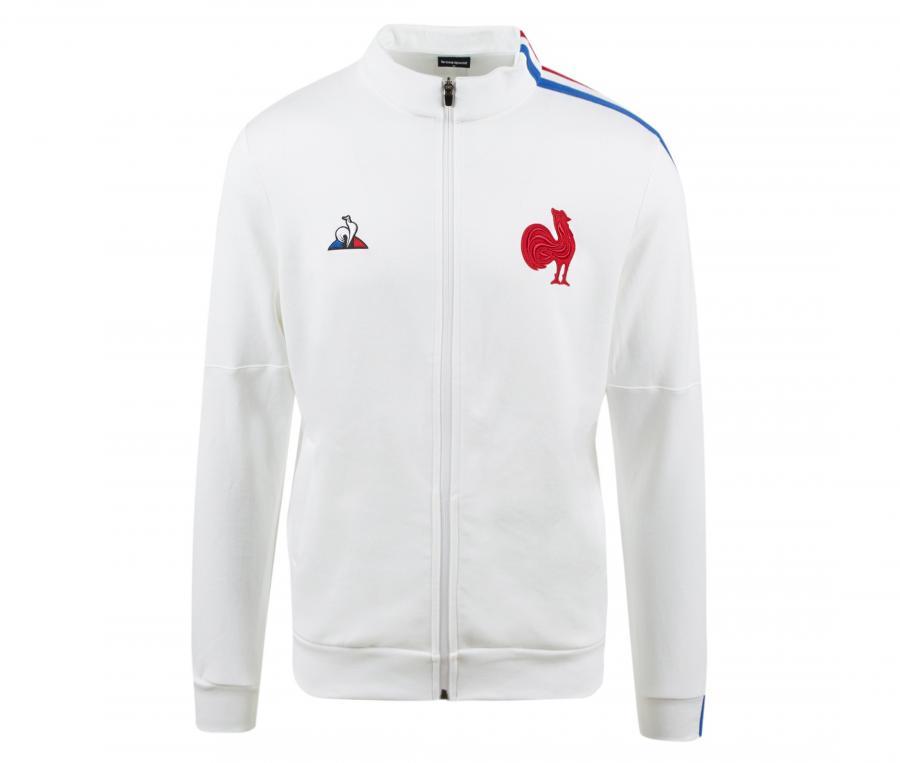 Veste Présentation France Rugby Blanc