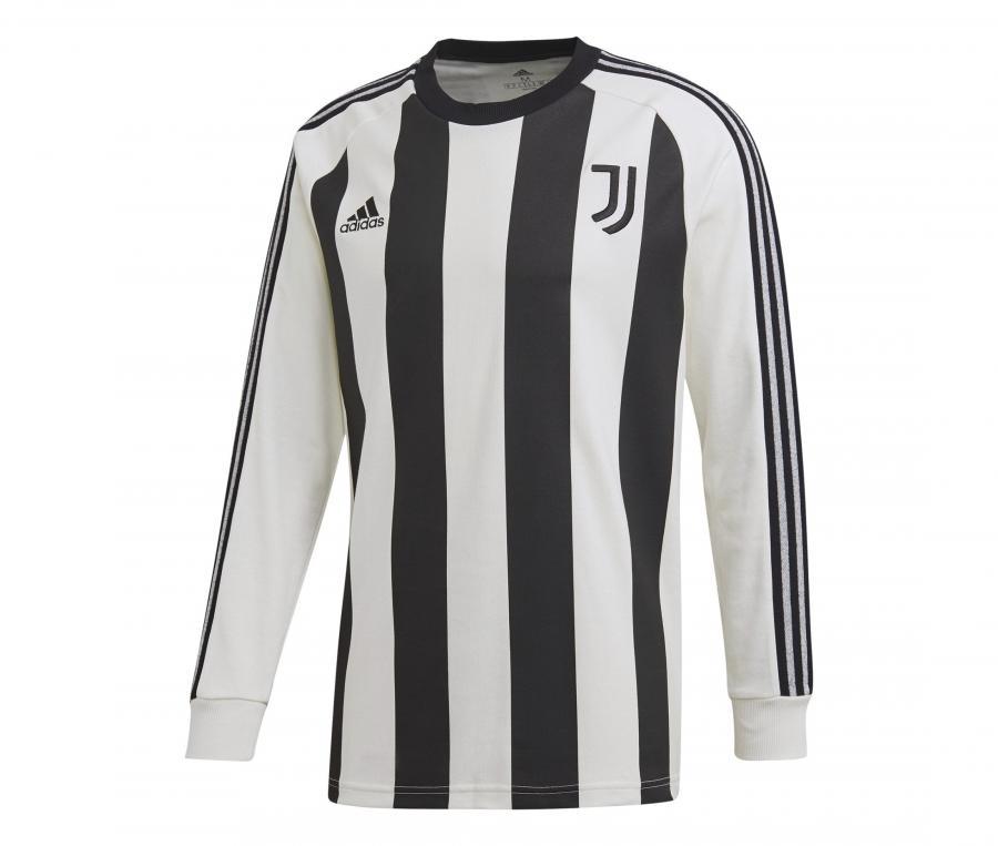 Sweat-shirt Juventus Icons Blanc/Noir