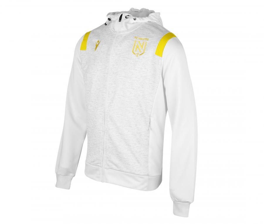 Veste à capuche FC Nantes Blanc