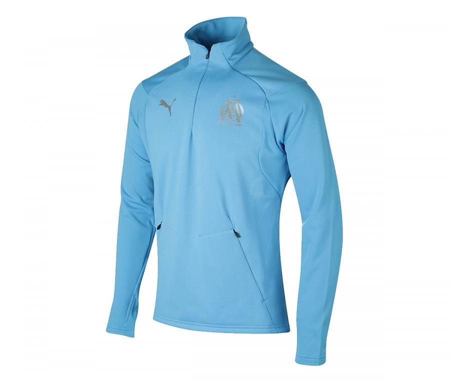 Training Top OM Fleece Bleu