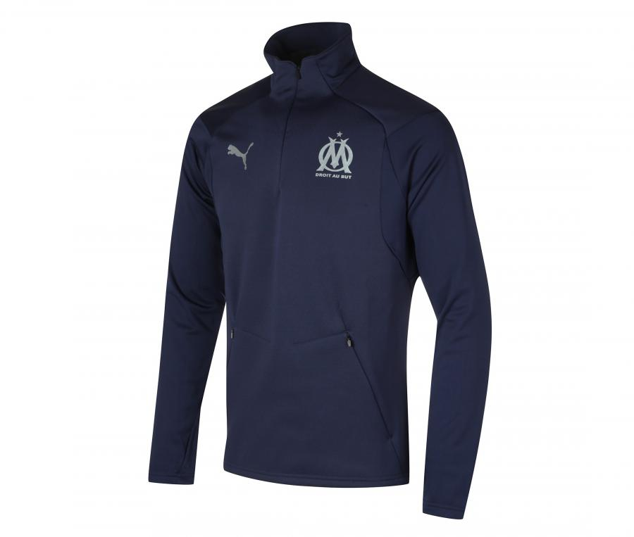 Camiseta De Entrenamiento OM Fleece Azul