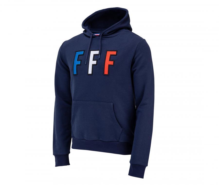 Sweat à capuche France Bleu