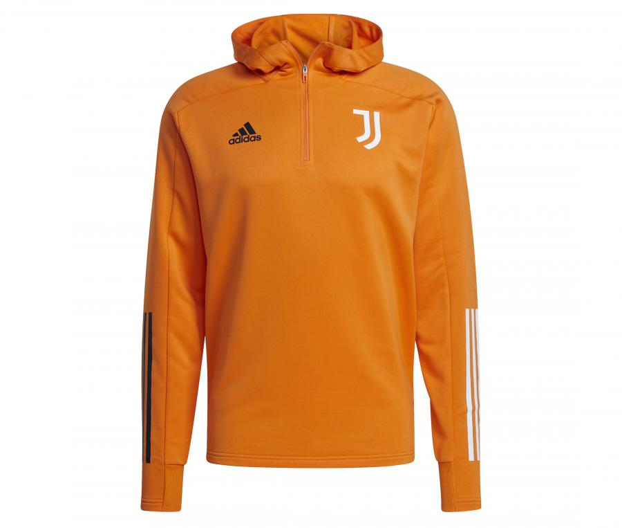 Sweat à capuche Juventus Orange