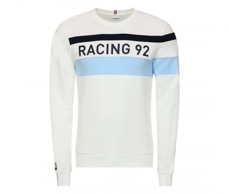 Sweat-shirt Racing 92 Blanc