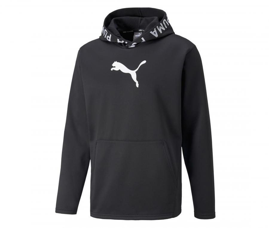 Sweat à capuche Puma Noir