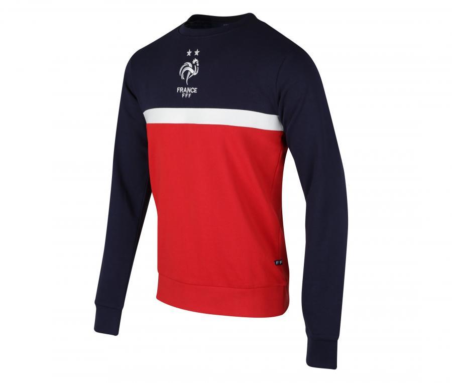 Sweat-shirt France Rouge/Bleu
