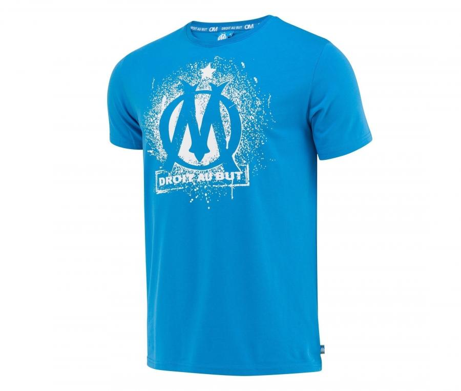 T-shirt OM Logo Bleu Junior