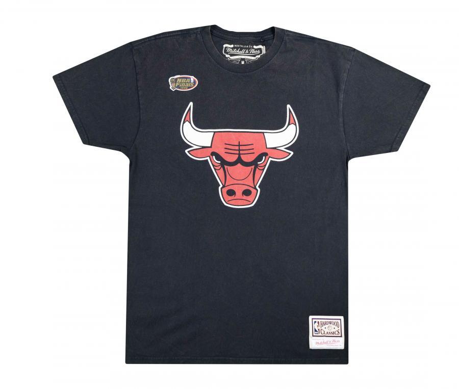 T-shirt  Chicago Bulls Noir