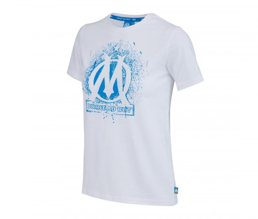 T-shirt OM Logo Blanc Junior