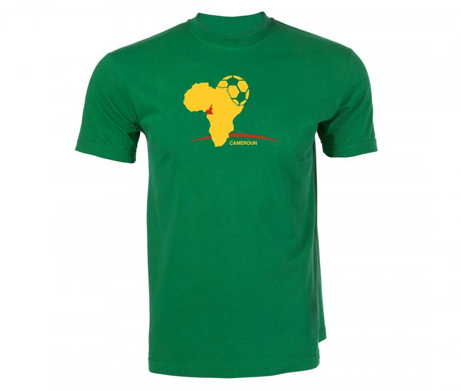 T-shirt Fan Cameroun Vert