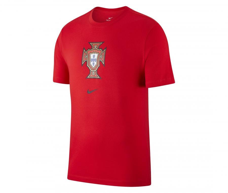 T-shirt Portugal Crest Rouge