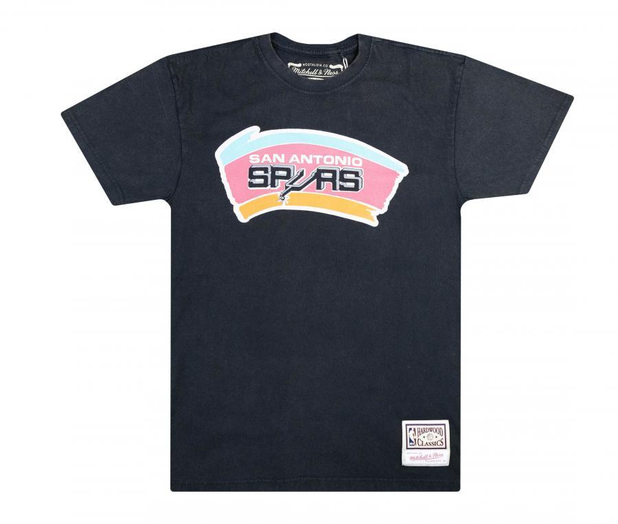 T-shirt San Antonio Spurs, Noir