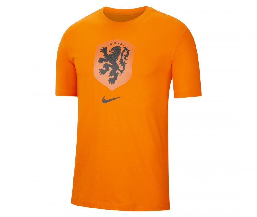 T-shirt Pays-Bas Crest Orange