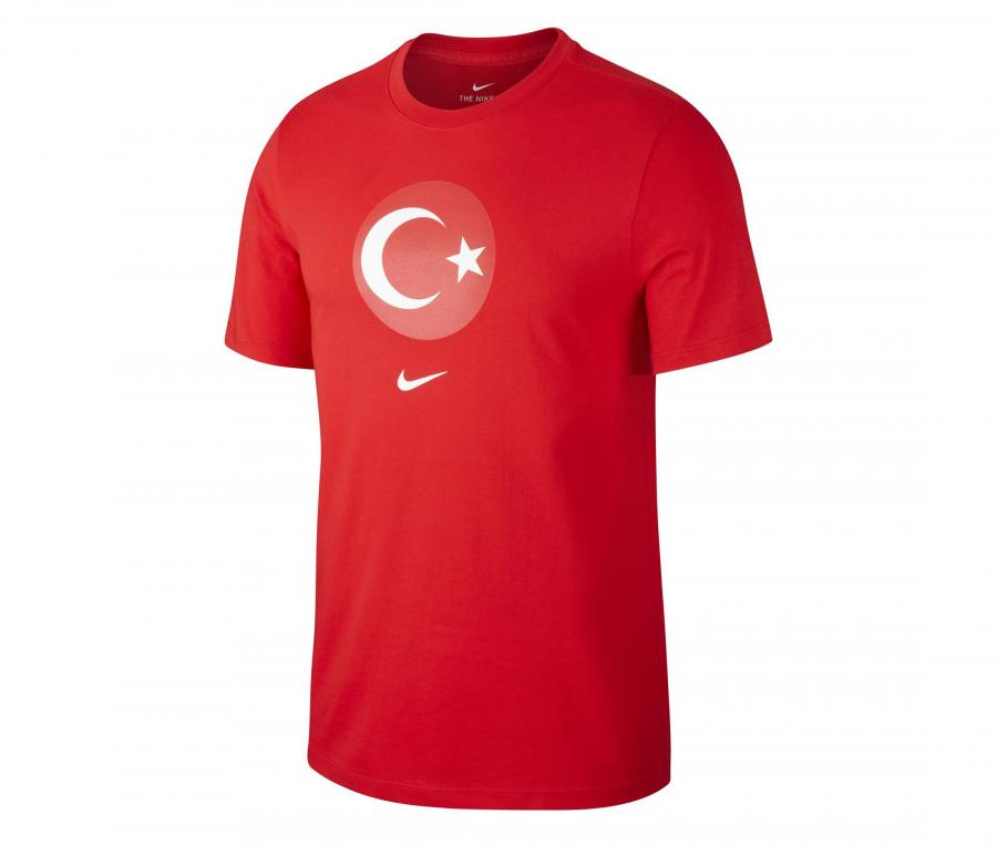 T-shirt Turquie Crest Rouge
