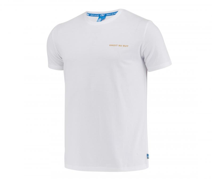 T-shirt OM Big Logo Blanc