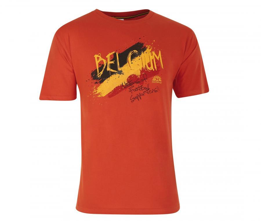 T-shirt Graphique Belgique Rouge Junior