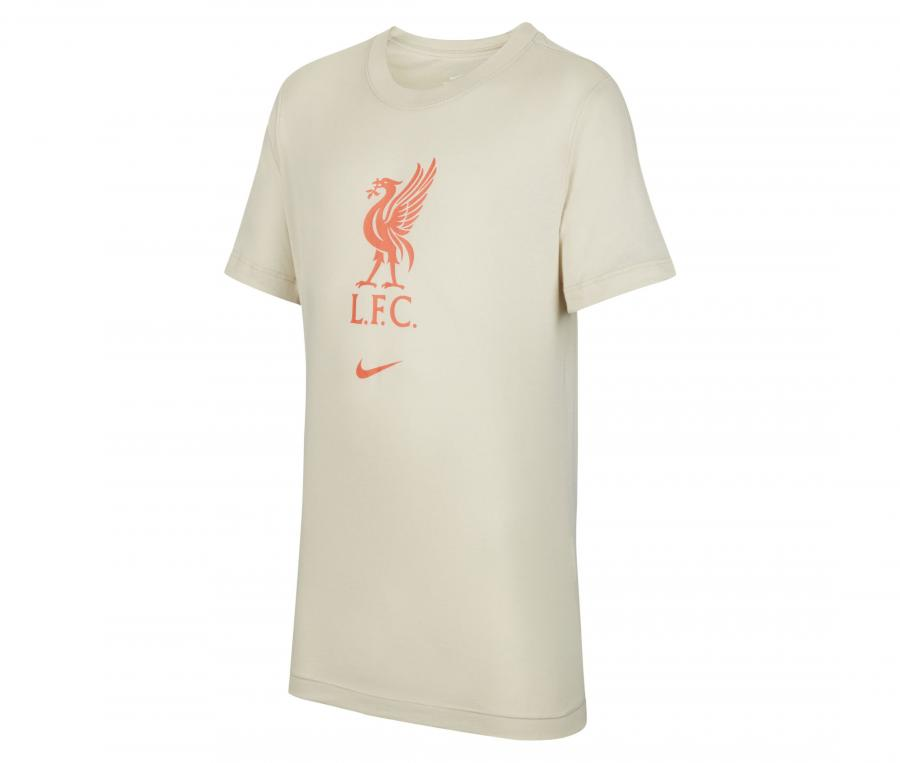 T-shirt Liverpool Crest Beige Junior