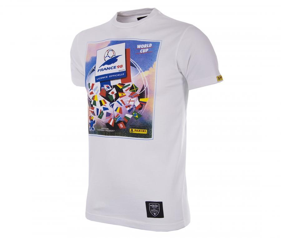 T-shirt Rétro France 1998 Blanc