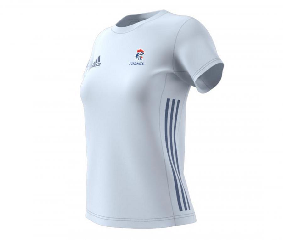 T-shirt Handball France FFHB Bleu Femme