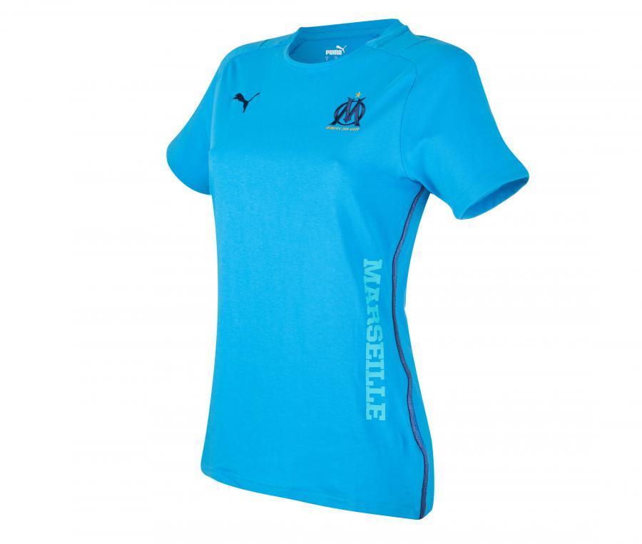 OM Casuals Woman's Tee-shirt Blue