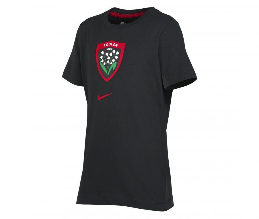 T-shirt RC Toulon Noir Junior