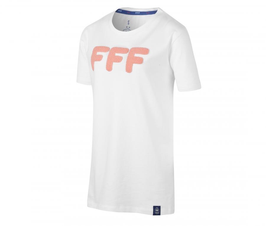 T-shirt France Blanc Femme