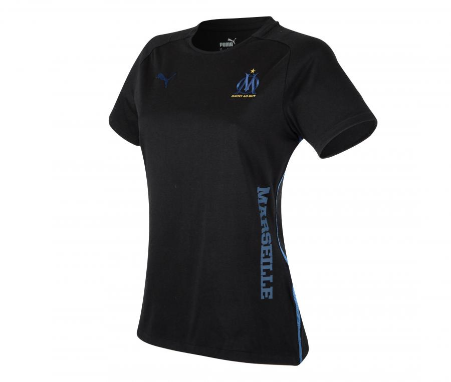 T-shirt OM Casuals Noir Femme