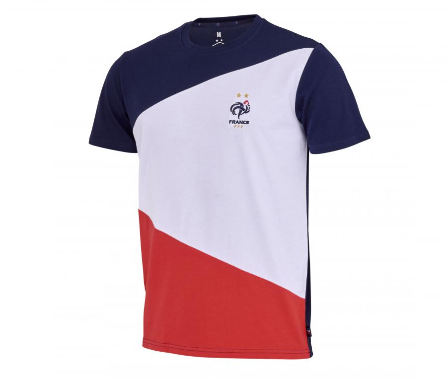T-shirt France Color Bleu/Blanc/Rouge Junior