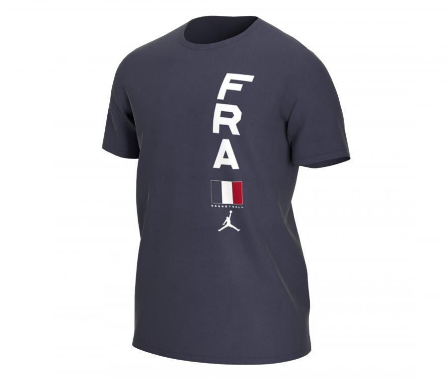 T-shirt France Team Bleu