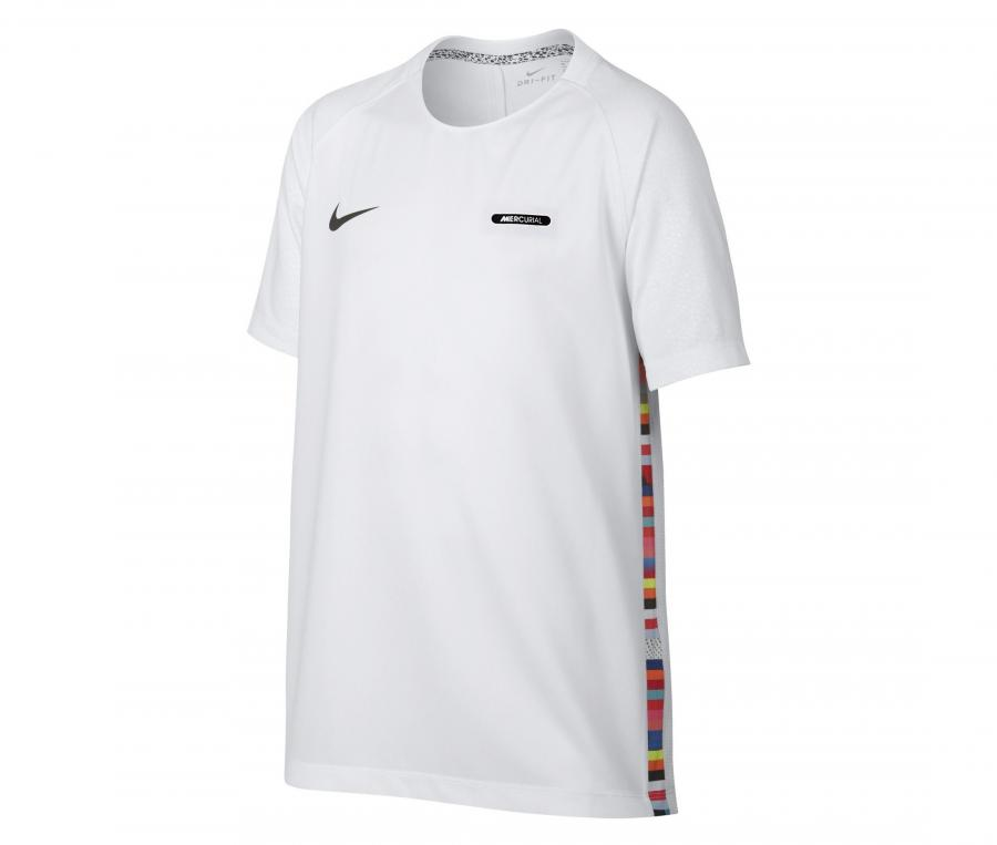 Maillot Nike Mercurial Blanc Junior