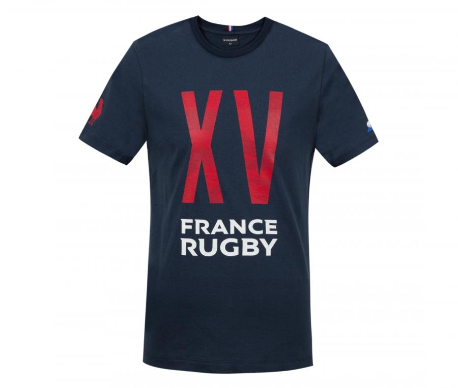 T-shirt France FFR Bleu Junior
