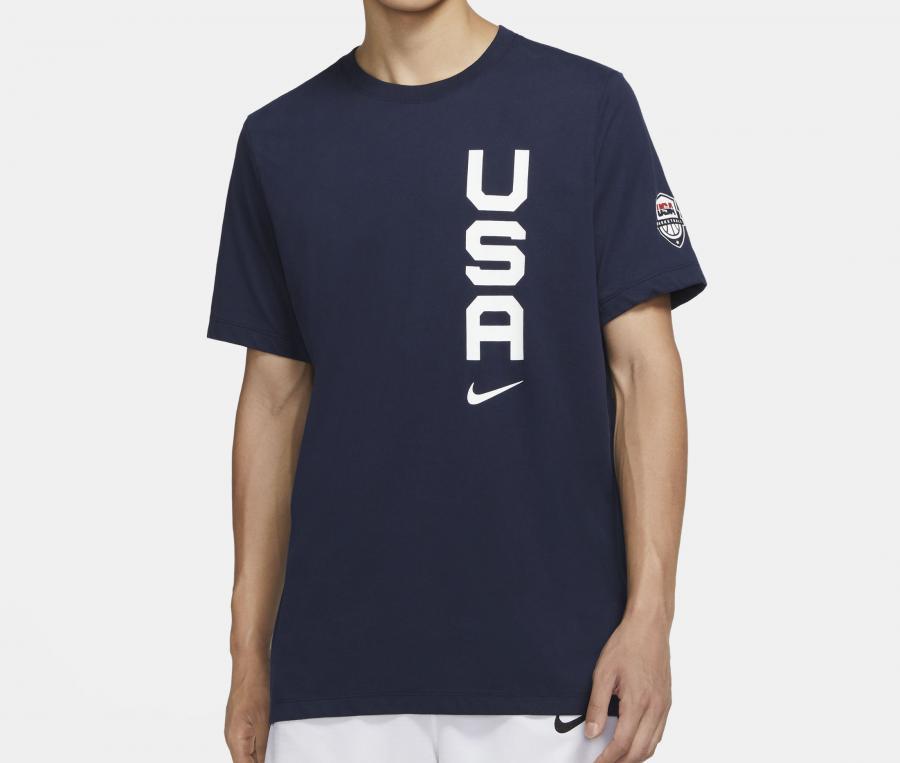 T-shirt USA Team Bleu