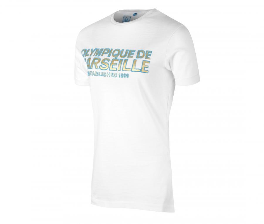 OM Wording White T-shirt