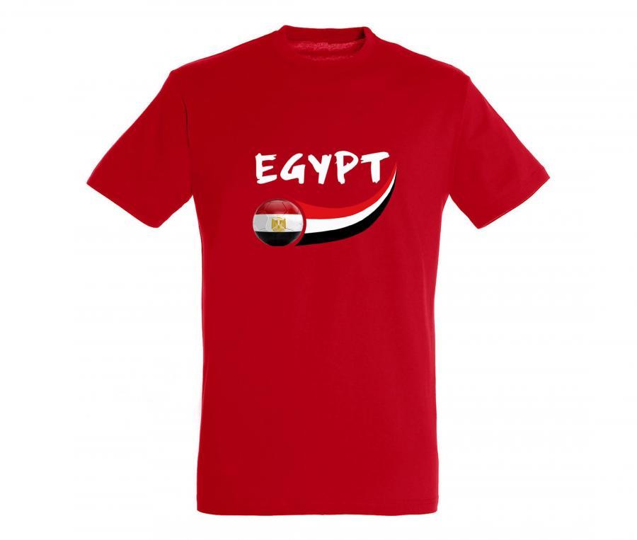 T-shirt Egypte Rouge