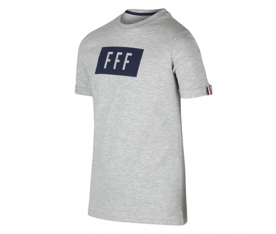 T-shirt France Cartouche Gris Junior