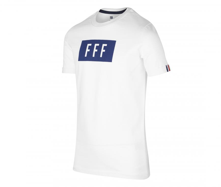 T-shirt France Cartouche Blanc Junior