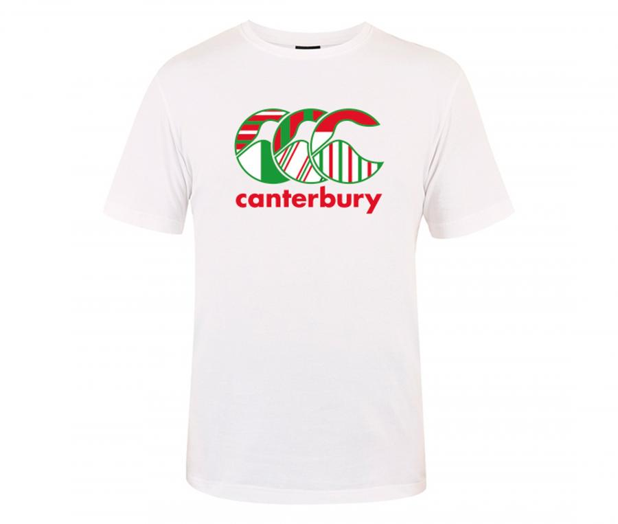 T-shirt Canterbury France Flag Blanc