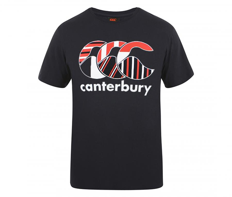 T-shirt Canterbury Uglies Club Noir