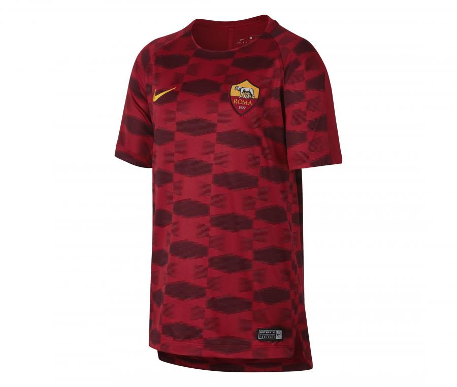 Maillot Pré-Match AS Roma Squad Rouge Junior
